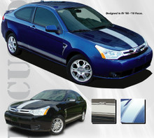08-10 Ford Focus (Focused Rally Graphic Kit)