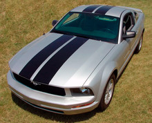 05-09 Ford Mustang Wildstang Racing Stripes Graphic Kit