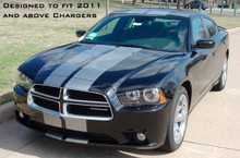 11-14 Dodge Charger N-Charge Rally Stripes Graphic Kit