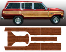81-91 Jeep Grand Wagoneer Woodgrain Kit