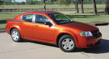 08-14 Dodge Avenger Avenged Graphic Kit