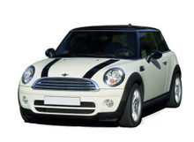 10-15 Mini Cooper S-Type Hood Stripes