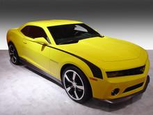 14-15 Chevrolet Camaro Throwback Hockey Stripe Kit