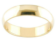 14k gold thick band toe ring
