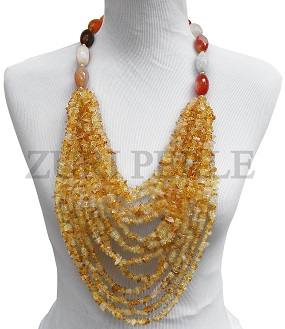 carnelian-barrel-bead-and-citrine-chip-bead-zuri-perle-handmade-necklace.jpg