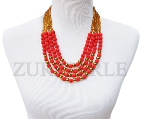 orange-hand-carved-coral-beads-and-gold-crystal-bead-zuri-perle-handmade-necklace.jpg