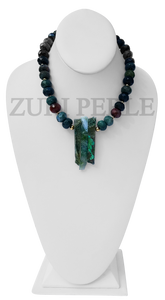 Zuri Perle Fancy Jasper Handmade necklace African Inspired Jewelry Nigerian Jeweler