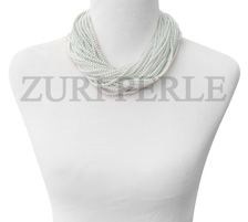 Zuri Perle  white pearl bride handmade necklace african inspired nigerian jeweler