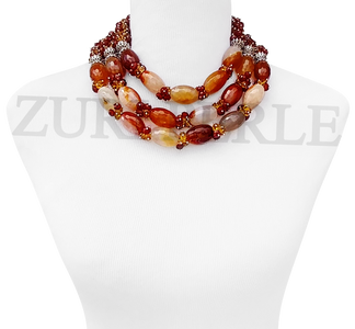 Original Coral Beads Nigerian Wedding African Jewelry Sets Bold Statement Necklace Set