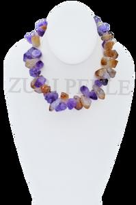 Zuri Perle handcrafted amethyst ametrine  nigerian wedding jewelry