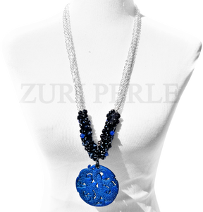 Women Handcrafted Quartz Necklace Made in Americ