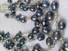 Women Handcrafted Pearl Necklace Made in America