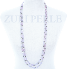 OGE - Women Handcrafted Pearl Coral Necklace Made in America