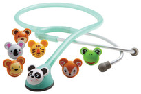 ADC Adimals 618 Platinum Pediatric Stethoscope Model 618SF Color Seafoam