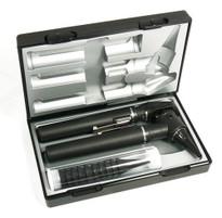 Riester Ri-Mini Otoscope/Ophthalmoscope Pocket Kit, 2.5 V Halogen Lamp Model 3012 Color Black