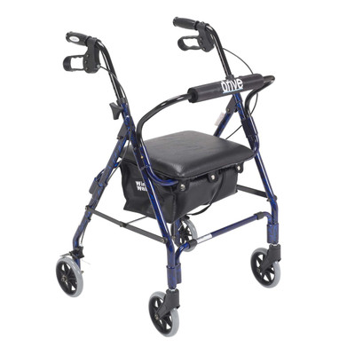 "Drive Medical Mimi Lite Deluxe Aluminum Rollator, 6"" Casters"