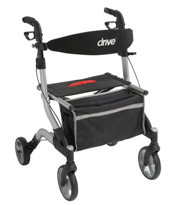 "Drive Medical I-Walker Aluminum Rollator, 7"" Casters"