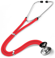 Prestige Medical Basic Sprague-Rappaport Stethoscope Model 122-RED Color Red