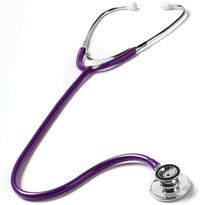Prestige medical Ultra-Sensitive Dual Head Stethoscope Model S125-PUR Color Purple