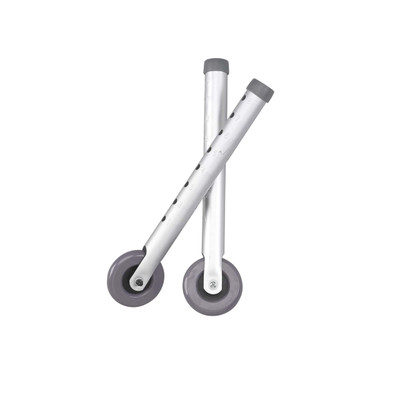 """3"""" Universal Walker Wheels with Two Sets of Rear Glides"""