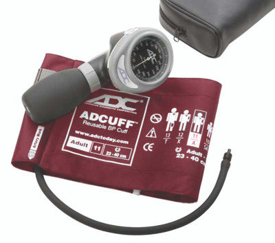 ADC Diagnostix 703 Palm Aneroid  Sphygmomanometer Model ADC703-11ABK Color Black