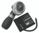 ADC Diagnostix 703 Palm Aneroid Sphygmomanometer Model ADC703-9CBK Color Black