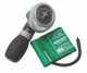 ADC Diagnostix 703 Palm Aneroid Sphygmomanometer Model ADC703-9CGR Color Green