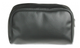 Leatherette carrying case with durable nylon zipper.