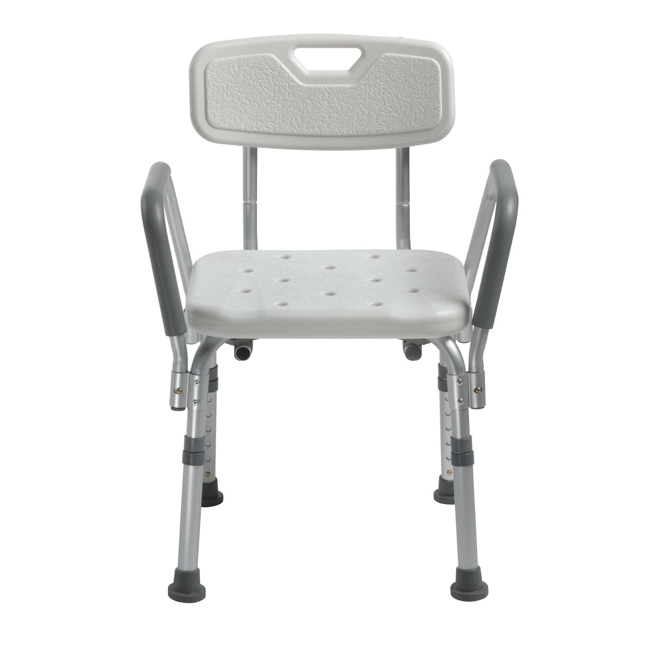 Shower Chair with Back and Removable Padded Arms Model 12445KD-1 ...