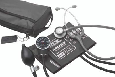 ADC Combo V Kit Pocket Aneroid  Sphg With Clinician Lite Stethoscope Model 728-609BK
