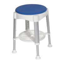 Drive Medical Shower Stool with Padded Rotating Seat