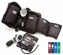 ADC Multikuf™ Portable 4 cuff Aneroid Blood Pressure System Model 732-MCC 4 Color System