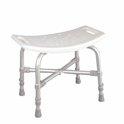 Drive Medical Deluxe Bariatric Shower Chair with Cross - Frame Brace Without Back