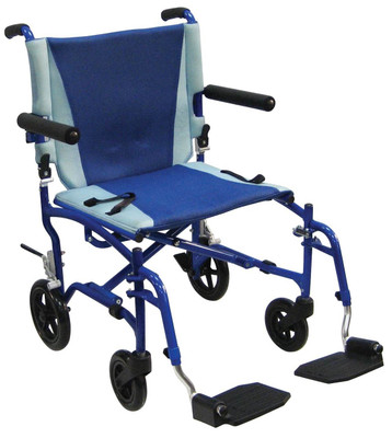 Drive Medical TranSport Aluminum Transport Chair