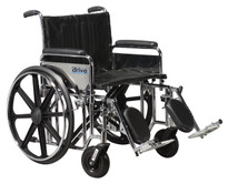 Drive Medical Bariatric Sentra Extra-Heavy-Duty Wheelchair