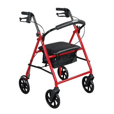 Drive Medical R900 4-Wheel Rollator R900RD
