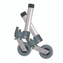 Drive Medical Swivel Wheel with Lock & Two Sets of Rear Glides