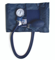 Lumiscope Standared Aneroid Sphygmomanometer, 3 Sizes Vinal Cuff