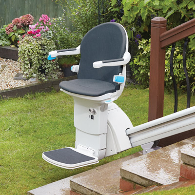 Handicare Straight Stairlift Model 1000 - Outdoor