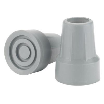 Drive Medical Crutch Tips (7/8' crutch diameter) Gray