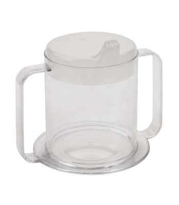 Drive Medical Clear 2-Handle Cup