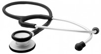 ADC Adscope™  609 Ultra-lite Clinician Stethoscope Model ADC609BK Color Black