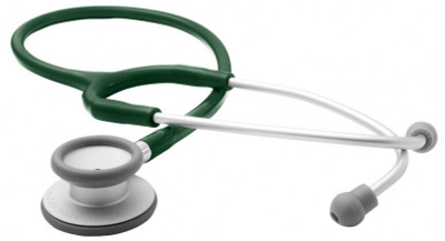 ADC Adscope™  609 Ultra-lite Clinician Stethoscope Model ADC609DG Color Dark Green