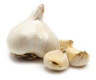 Garlic Russian-  200g (Purple garlic out of season)