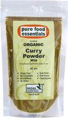 Curry Powder Organic- Mild 80g