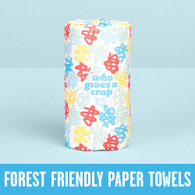 Paper Towel- Double Length 2ply *100% Forest Friendly*