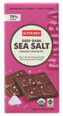 Chocolate Dark Sea Salt - 80g