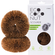 Eco Coco Nut Scourer-2 Pack *NEW*