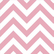 Dessert Napkins - Chevron Light Pink