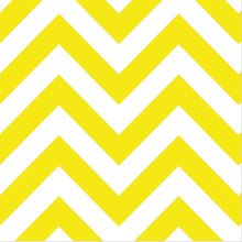 Dessert Napkins - Chevron Yellow